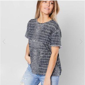 Free People Tops - Free People Python Combo Clarity T-shirt